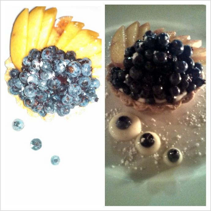 Blueberry tart @ Petite Jacqueline